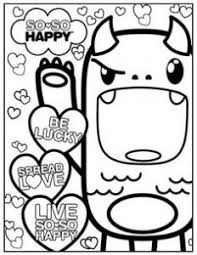coloring pages good kawaii coloring pages free