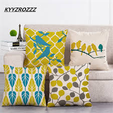 Home Decor Yellow by Compare Prices On Yellow Pillows Decorative Online Shopping Buy