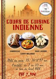 cours de cuisine indienne les cours de cuisine gourm edhec