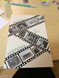 make this fun envelope birthday book with the new punch boards