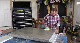 Best Wood For Making A Coffee Table by How To Make A Concrete Coffee Table Diy Projects With Pete