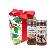 Food Gift Sets Sanders Holiday Two Pack 10oz Topping Gift Set