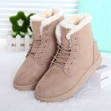 womens winter boots canada 2015 boots lace up fur ankle boots shoes botas femininas