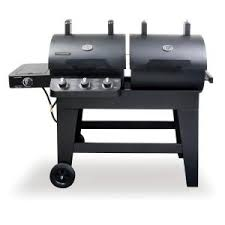 Backyard Grills Reviews by Brinkmann Dual Function Charcoal Gas Smoker And Grill Review U0026 Rating