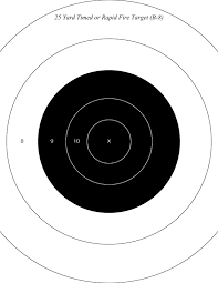 printable shooting targets pdf city gun club targets