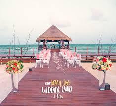 our beach style wedding guide u0026 tips modern chic magazine