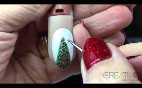 nail art christmas tree nail art designs string treechristmas