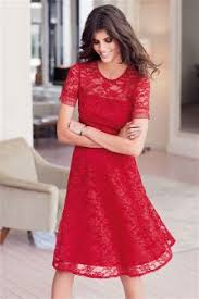 red dresses long lace sleeve u0026 little red dresses next uk