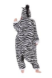 zebra halloween costume amazon com zebra kigurumi costume clothing
