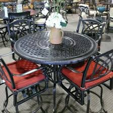 Patio High Table And Chairs Gensun Patio Furniture Family Leisure