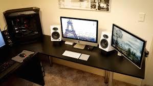 mac setup dual display imac 27 u2033 and a decked out pc