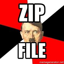 Zip Meme - zip file advice hitler meme generator