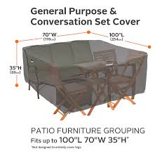 Amazon Patio Furniture Covers by Amazon Com Classic Accessories 55 457 015101 Ec Ravenna General