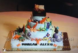 coolest homemade under the sea scene cakes