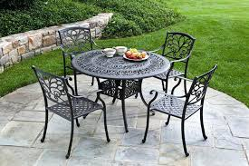 wrought iron patio table and chairs outdoor iron furniture cast iron patio set table chairs garden