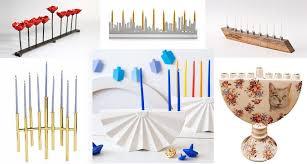simple menorah 10 modern menorah designs for hanukkah 2016 6sqft