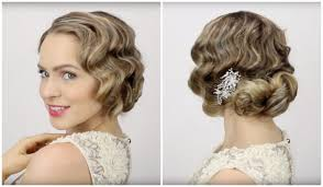 great gatsby hair long halloween style pick the iconic 1920s finger wave updo nume blog