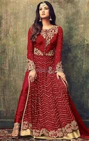 indo western dress long designer party wear dresses u0026 suits for girls