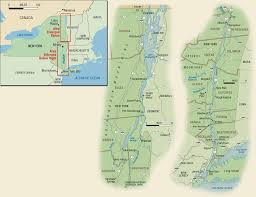 Albany New York Map by New York U0027s Hudson River U0026 Lake Champlain Region Travel Guide