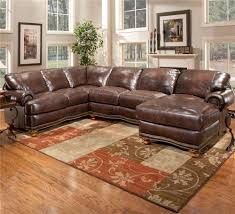 Oversized Leather Sofa Sofa U Shaped Sofa Reclining Sectional With Chaise Sleeper