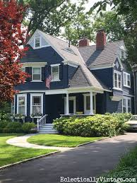 Curb Appeal Photos - summer curb appeal houses