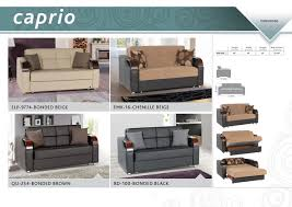 Pull Out Loveseat Caprio Loveseat Bed
