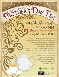 first annual mother u0027s day tea west claremont center for music