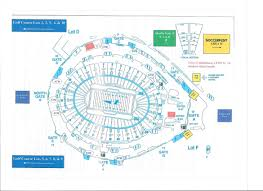 Fc Dallas Stadium Map by Rose Bowl Stadium Maps La Galaxy