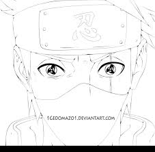 kakashi coloring pages best naruto naruto coloring pages and