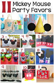 mickey mouse party favors diy mickey mouse decorations 11 diy party favors admirable