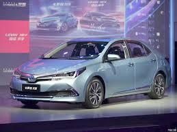 toyota arabalar toyota corolla hybrid auto shanghai 2015 live