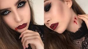 easy face makeup for halloween quick and easy vampire halloween makeup tutorial using regular