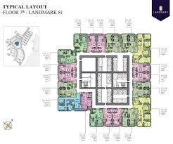 Park Central Floor Plan Layout Of Landmark 81 Tower
