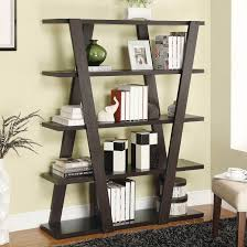 Leaning Bookcases Furniture Home Book Shelf Walmart Leaning Shelves Leaning Wall