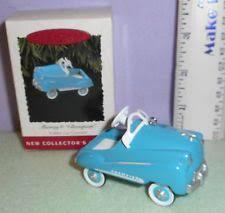 hallmark car ornaments ebay