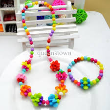 Personalized Children S Jewelry Fashion Colorful Candy Beaded Jewelry Set Childrens Jewelry For