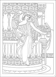 coloring page angel visits joseph angel coloring book miss adewa 2a5436473424
