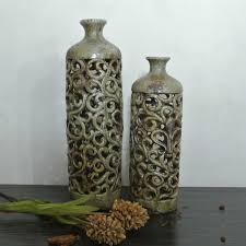 retro garden pottery vase ornaments foreign trade last single