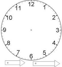 printable clock template without numbers printable clock templates blank clockface without hands clock
