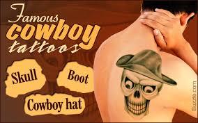 cowboy tattoos
