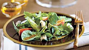 Celery Salad Spinach Celery Salad With Mustard Vinaigrette Recipe