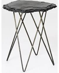 Iron Side Table Don T Miss This Bargain Forma Side Table Slate Metal Lavastone
