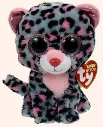 ty beanie boo sophie pink soft toy ty beanies