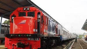 Kereta Api Kereta Api Transportasi Murah Jalur Palembang Bandar Lung
