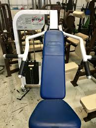 Nautilus Bench Press Machine Strength Archives Preowned Cardio