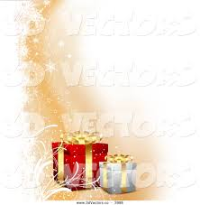 royalty free stock vector designs of christmas presents