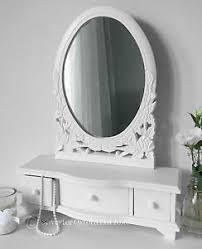crisp white shabby chic dressing table mirror french ebay