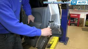how to unlock a jeep liberty without how to install replace remove rear door panel 2002 07 jeep liberty