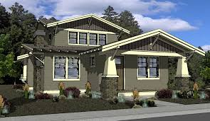 craftsman design homes bungalow craftsman house plan 87574 house plans