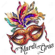 cool mardi gras masks mardi gras mask isolated on white background colorful poster